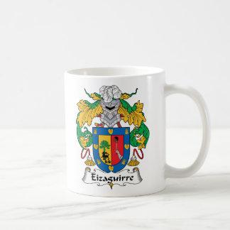 Eizaguirre Family Crest Coffee Mugs