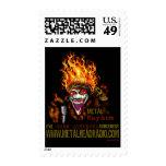 EJ & DS Metal Mayhem Postage stamps