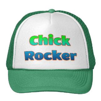 Eje de balancín del polluelo gorras de camionero