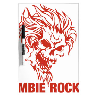 Eje de balancín del zombi - Roca-N-Rollo Pizarra Blanca