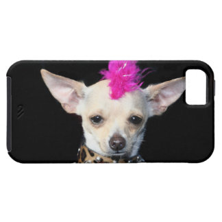 Eje de balancín punky de la chihuahua iPhone 5 carcasa