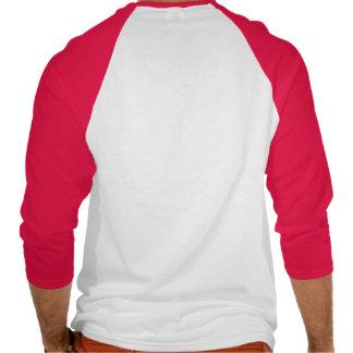 eje de balancín rojo camisetas
