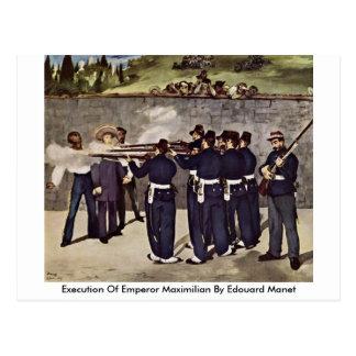 Ejecución del emperador Maximiliano de Eduardo Man Postales