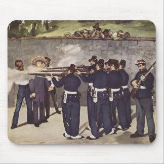 Ejecución del emperador Maximiliano de México - Ma Alfombrillas De Raton