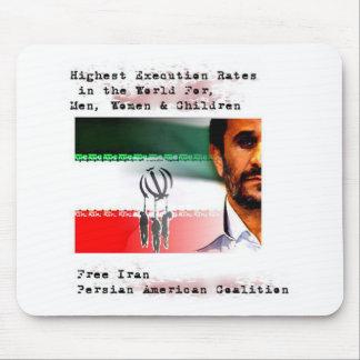 Ejecución en Irán Alfombrillas De Raton