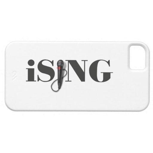 ejecutante del micrófono del iSING Funda Para iPhone SE/5/5s