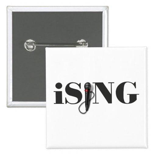 ejecutante del micrófono del iSING Pin
