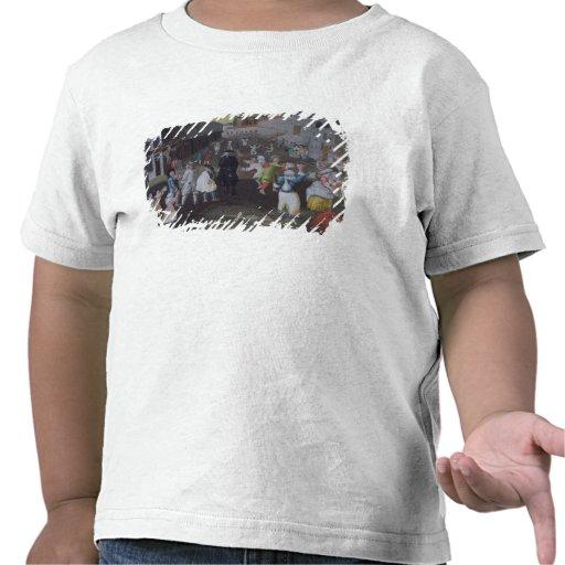 Ejecutantes de la calle en el carnaval Populaire Camiseta