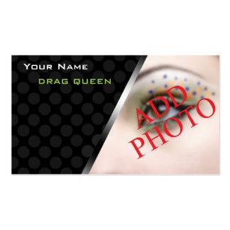 Ejecutantes personalizados de la reina de fricción tarjetas de visita