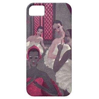 Ejecutantes rosados púrpuras del vintage de los ba iPhone 5 coberturas