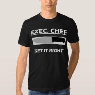 Ejecutivo. Cocinero Camisas