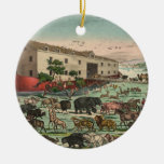 Ejemplo 1882 de los animales de la arca de Noahs d Ornamente De Reyes