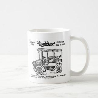 Ejemplo 1904 del vintage del Rambler Taza Clásica
