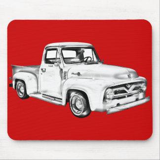 Ejemplo 1955 de la camioneta pickup del F-100 Ford Tapete De Raton