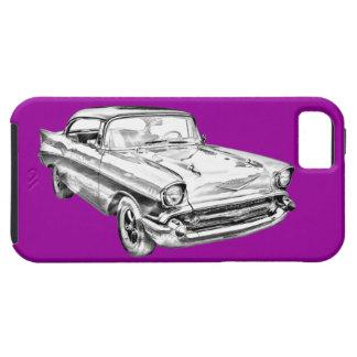 Ejemplo 1957 del Bel Air de Chevy iPhone 5 Case-Mate Cárcasas