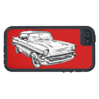 Ejemplo 1957 del Bel Air de Chevy iPhone 5 Case-Mate Cobertura