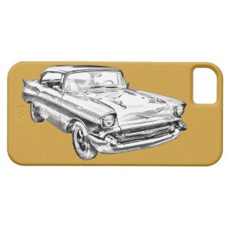 Ejemplo 1957 del Bel Air de Chevy iPhone 5 Protectores