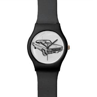 Ejemplo 1966 de Chevy Chevelle SS 396 Relojes De Pulsera