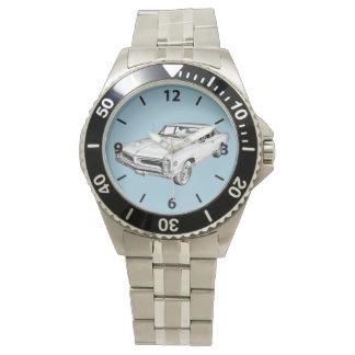 Ejemplo 1966 del coche del músculo de Pontiac Le Relojes De Pulsera