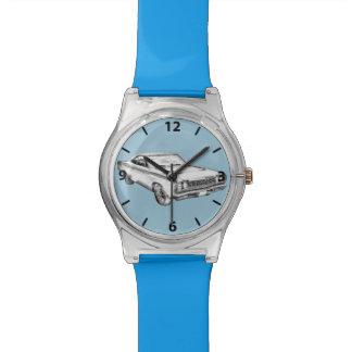 Ejemplo 1968 del coche del músculo del Roadrunner Reloj
