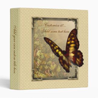 """Ejemplo 1"""" de la mariposa del estilo del vintage carpeta 1"""""""