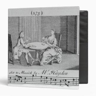 """Ejemplo a la partitura de Joseph Haydn Carpeta 1 1/2"""""""
