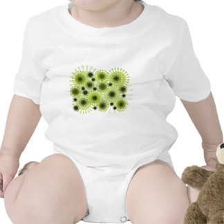 ejemplo abstracto del arte traje de bebé