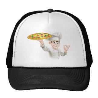 Ejemplo aceptable del cocinero de la pizza de la m gorra
