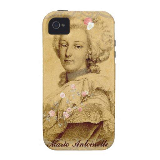 Ejemplo alterado Antonieta del arte de Marie iPhone 4/4S Carcasas