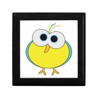 Ejemplo amarillo lindo de la animación del pájaro