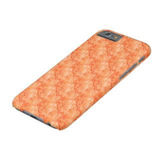 Ejemplo anaranjado tejado de la flor funda para iPhone 6 barely there