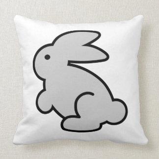 Ejemplo animado del conejo gris