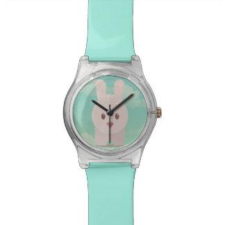 Ejemplo animal lindo del conejito de la decoración relojes de mano