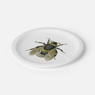 Ejemplo antiguo de la abeja