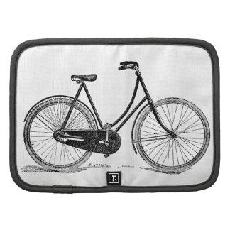 Ejemplo antiguo de la silueta de la bicicleta del  planificador