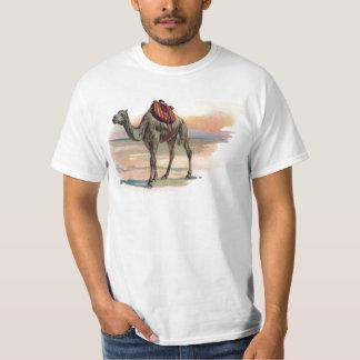 Ejemplo antiguo del camello del dromedario playera