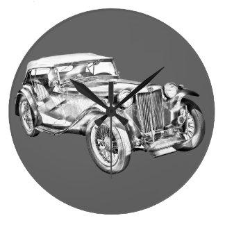 Ejemplo antiguo del coche de deportes del magnesio relojes