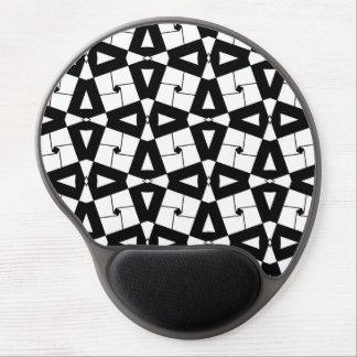 Ejemplo artístico de los ornamentos alfombrillas de ratón con gel