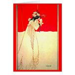 Ejemplo-Aubrey Beardsley 8 del Notecard-Vintage Tarjetas
