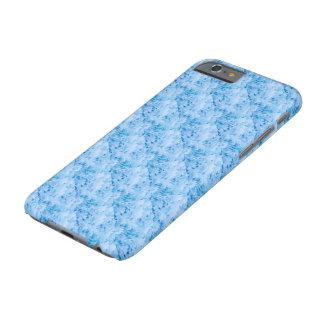 Ejemplo azul tejado de la flor funda para iPhone 6 barely there