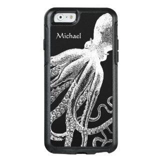 Ejemplo blanco negro de los tentáculos del pulpo funda otterbox para iPhone 6/6s
