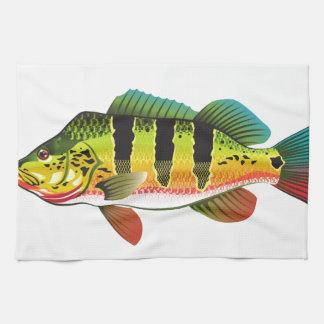 Ejemplo brillante bajo de los Gamefish del océano Toalla De Cocina
