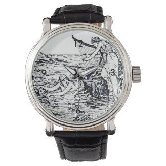 Ejemplo céltico del cuento de hadas de la sirena relojes de mano