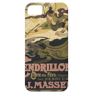 Ejemplo Cenicienta del cuento de hadas de Nouveau iPhone 5 Protector