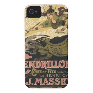 Ejemplo Cenicienta del cuento de hadas de Nouveau Case-Mate iPhone 4 Carcasa