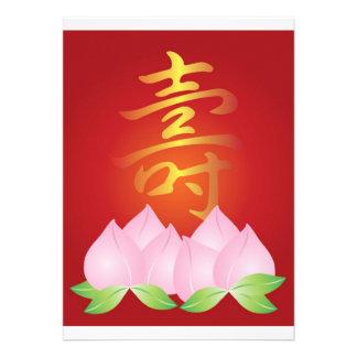 Ejemplo chino de la longevidad de la caligrafía co anuncio