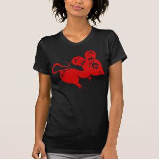 Ejemplo chino de la rata de la astrología camiseta