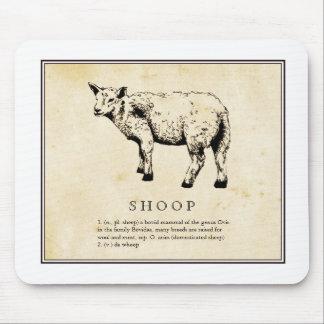 Ejemplo científico chistoso - Shoop (ovejas) Alfombrilla De Ratones