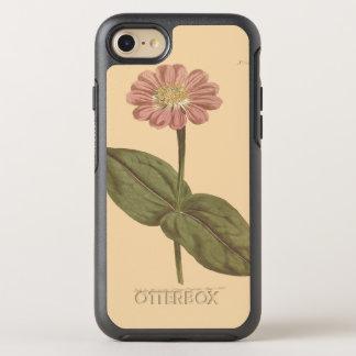 Ejemplo coloreado violeta del Zinnia Funda OtterBox Symmetry Para iPhone 7