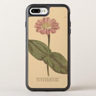 Ejemplo coloreado violeta del Zinnia Funda OtterBox Symmetry Para iPhone 7 Plus